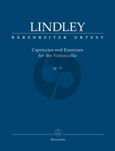 Lindley Capriccios and Excercises Op. 15 for the Violoncello (edited by Valerie Walden)