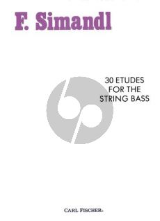 Simandl 30 Studies for the String Bass