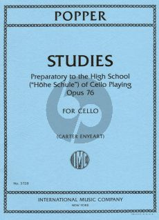 Popper Studies Op.76 Cello (Preperatory to High School) (Carter Enyeart)