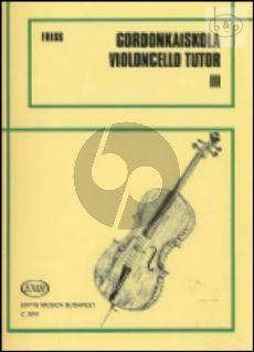 Violoncello Tutor Vol.3