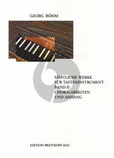 Bohm Samtliche Werke für Tasteninstrumente Vol.2