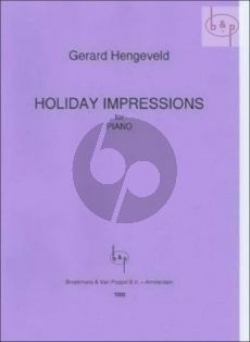 Holiday Impressions Piano solo