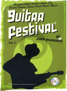 Wanders Guitar Festival Vol.2 (Bk-Cd)