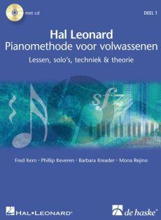 Piano Methode voor Volwassenen Vol.1 (Bk- 2 Cd's) (Lessen, Solo's, Techniek en Theorie) (Nederlands Kern-Keveren-Kreader-Rejino)