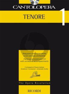 Cantolopera 1: Tenore Voice-Piano (Bk-Cd)