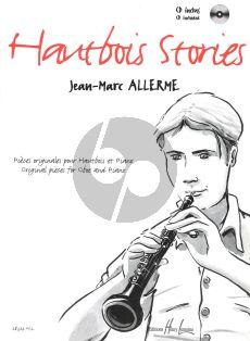 Allerme Hautbois stories Hautbois et Piano (Bk-Cd)