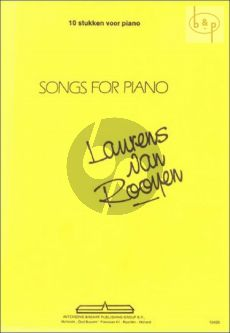 Songs for piano