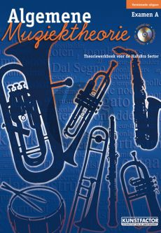 Maas-Eijnden Algemene Muziektheorie Examen A (Theoriewerkboek voor de HaFaBra Sector) (Bk-Cd)