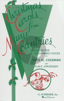 Christmas Carols from many Countries