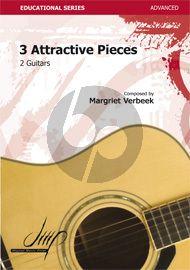 Verbeek 3 Attractive Pieces for 2 Guitars