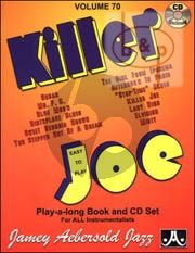 Jazz Improvisation Vol.70 Killer Joe