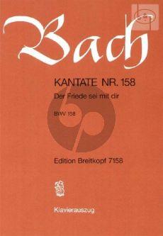 Bach Kantate No.158 BWV 158 - Der Friede si mit dir (Deutsch) (KA)