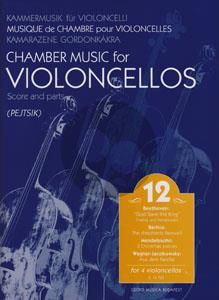 Chamber Music for Violoncellos Vol.12 (4 Vc.) (Score/Parts) (Arpad Pejtsik)
