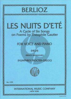 Berlioz Les Nuits d'Ete High Voice