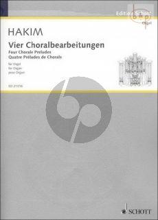 4 Choralbearbeitungen Hakim N.