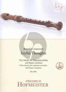 Joyful Thoughts Descant Recorder-Bc