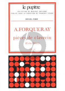 Forqueray Pieces de Clavecin (Colin Tilney) (Le Pupitre)
