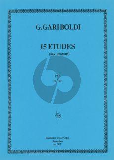 Gariboldi 15 Etudes aux Amateurs Flute