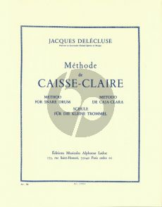 Delecluse Methode de Caisse Claire