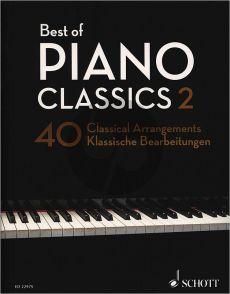 Best of Piano Classics 2 (40 Classical Arrangements) (edited. H.G.Heumann)