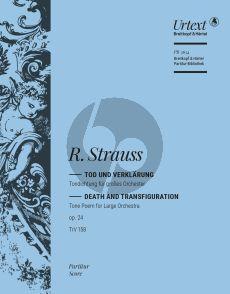 Strauss Tod und Verklärung Op. 24 TrV 158 Orchester (Partitur) (Nick Pfefferkorn)