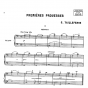 Taileferre Premieres Prouesses Piano 4 mains (6 Easy Pieces)