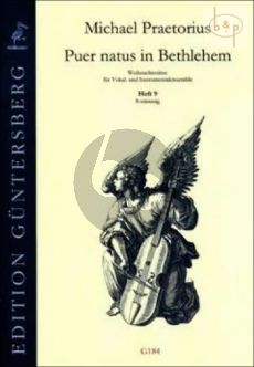 Puer natus in Bethlehem (Christmas Settings for Vocal and Instr.Ens) Vol.9 (8 Part)