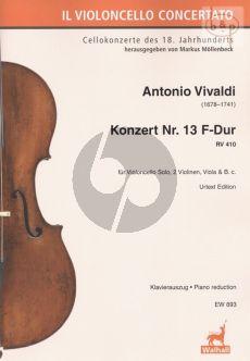 Concerto No.13 F-major RV 410 (Violonc.- 2 Vi.- Va.-Bc)