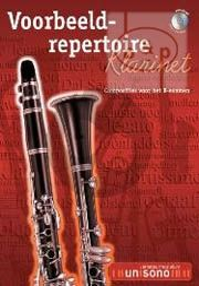 Voorbeeld Repertoire Klarinet B-Examen (Clarinet-Piano with play-along CD) (Bk-Cd)