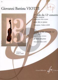 Concerto No.12 E-flat major 1e Solo