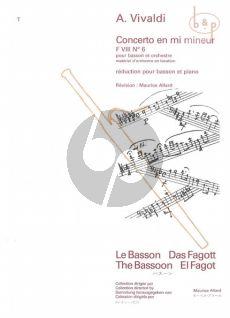 Concerto e-minor RV 484