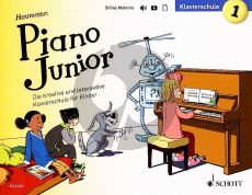 Heumann Piano Junior Klavierschule 1 (Book with Audio online) (deutsch)
