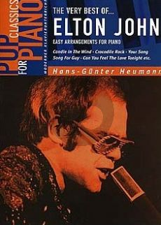Very Best of of Elton John Vol.1 (Easy Arrangements for Piano Solo by H.G. Heumann)
