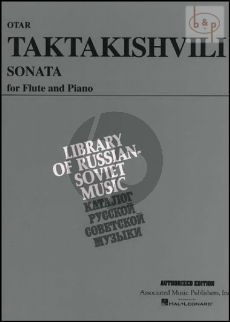 Taktaktishvili Sonata for Flute and Piano (edited by Louis Moyse)