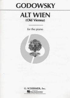 Godowsky Alt Wien (Old Vienna) Piano
