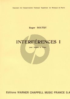 Boutry Interferences I Basson et Piano