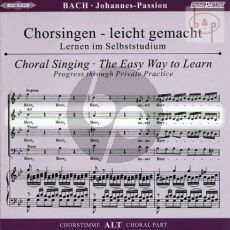 Johannes Passion BWV 245 Alt Chorstimme