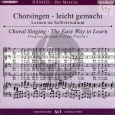 Messias HWV 56 (CD Alt Chorstimme) (2 CD's) (Chorsingen leicht gemacht)