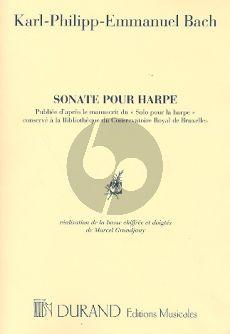 Bach Sonate Harpe (Marcel Grandjany)