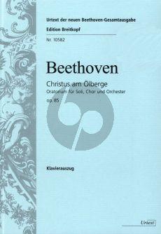 Beethoven Christus am Olberge Op.85 (Oratorio) (Soli-Choir-Orch.) (Vocal Score) (Herausgegeben von Anja Muhlenweg und Klavierauszug von Carl Reinecke) (Breitkopf-Urtext)