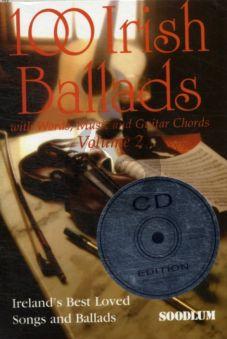 100 Irish Ballads Vol.2 (Bk-Cd) (Melody Line/Lyrics/Chords)