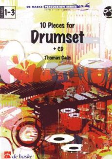 Calis 10 Pieces for Drumset (Bk-Cd)