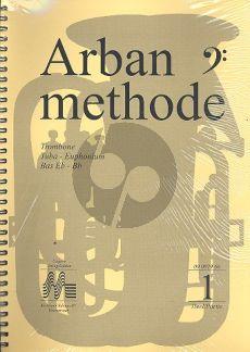 Arban Methode kompleet (3 dln) bassleutel (Trombone-Tuba)