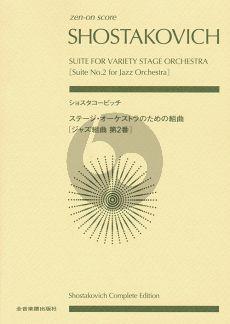Shostakovich Suite No.2 for Jazz Orchestra (Study Score)