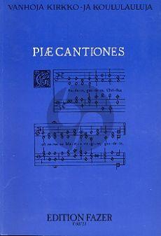 Album Piae Cantiones (Koulupainos) Andersen-Makinen Finnish, Latin, Multiple languages