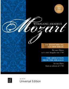 Mozart Die Entfuhrung aus dem Serail 2 Flöten