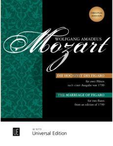 Mozart Die Hochzeit des Figaro KV 492 2 Flutes (from an edition of 1799) (edited by Gerhard Braun)
