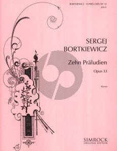 Bortkiewicz 10 Praludien Op.33 Piano