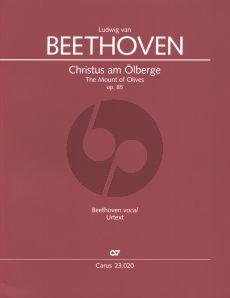 Beethoven Christus am Olberge Op.85 (Oratorium) Soli-Chor-Orchester (Partitur) (Clemens Harasim)