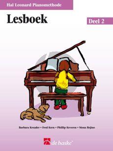 Piano Methode Vol.2 Lesboek (Alleen het Boek) (Barbara Kreader - Fred Kern - Phillip Keveren)